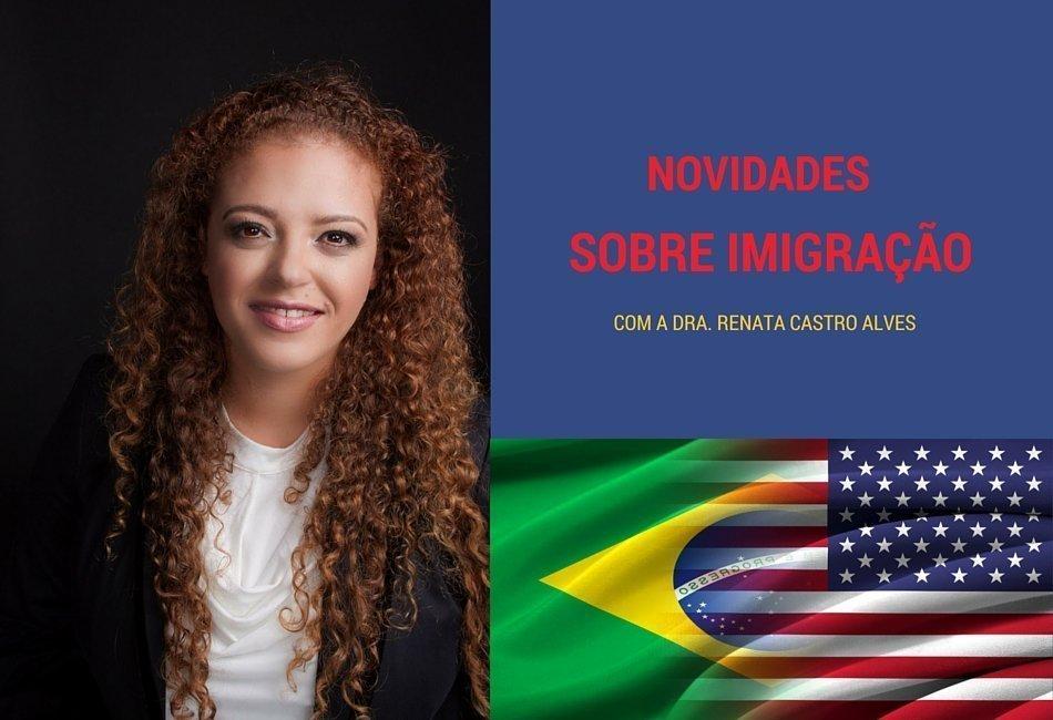 Imigração libera quota de 10,000 vistos U para o ano de 2016