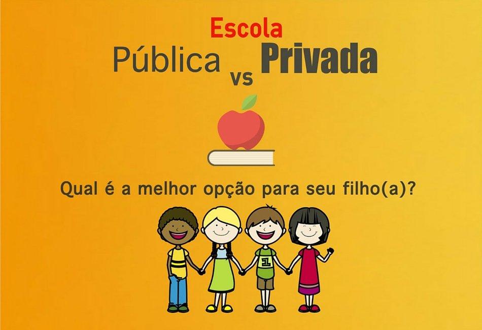 Escola Pública ou Privada? Qual é a melhor?