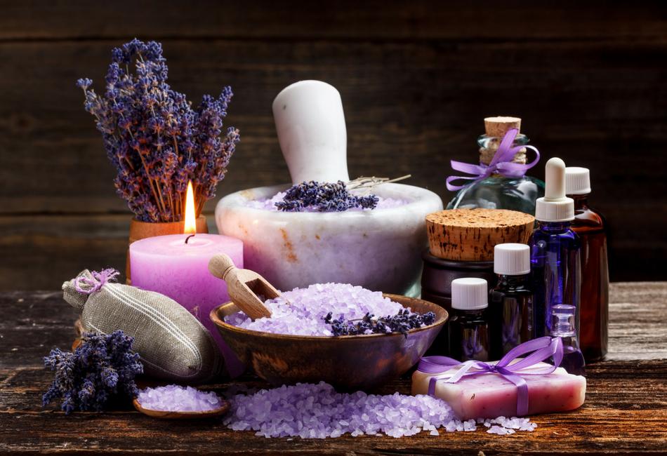O óleo essencial de Lavanda e a regeneração da pele