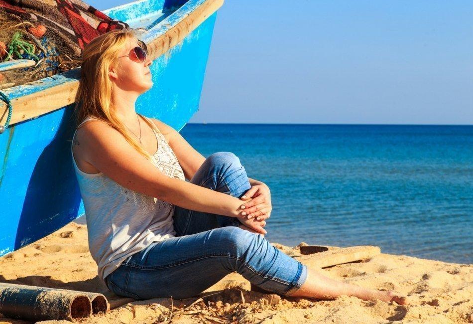 Quem decide se você vai à praia? Sua vontade ou sua aparência?